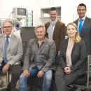 Chefärzte und Pflegedirektorin des Alb-Donau Klinikums Standort Blaubeuren im neuen Schockraum