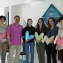Frauenklinik Ehingen erhält Herzkissen von Schülern der Michel-Buck-Schule